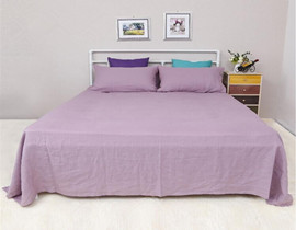 100% pure  linen  bed sheet