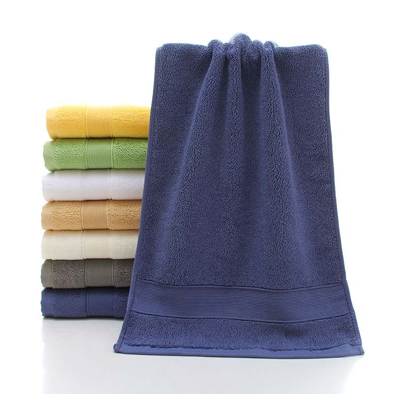 Combed Cotton Padded Plain Hotel FaceTowel