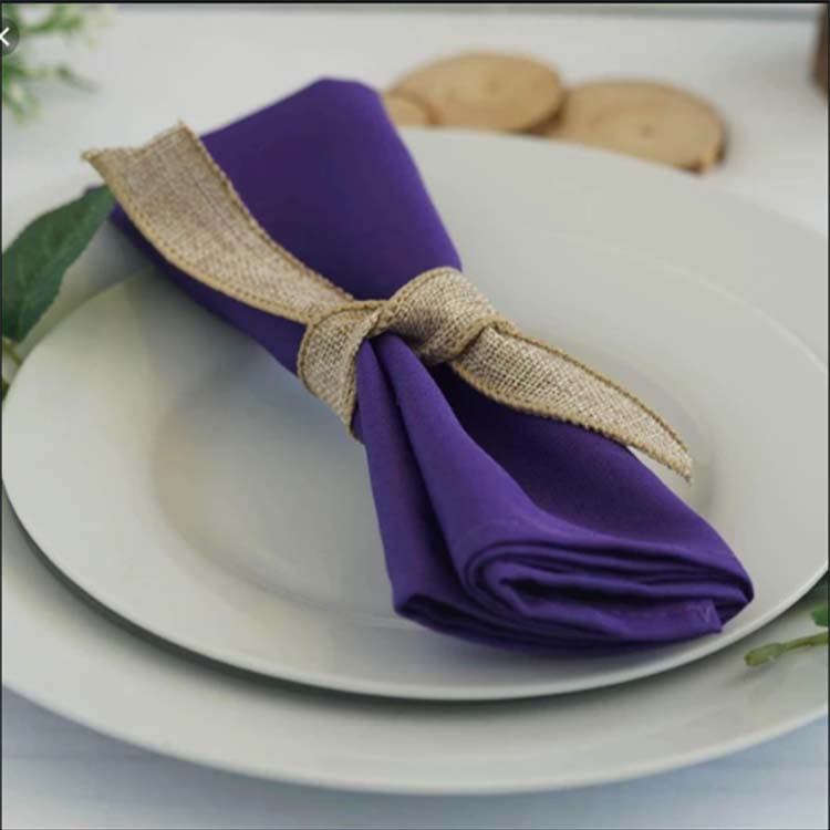 Pure linen napkin fabric, your table is the most stylish